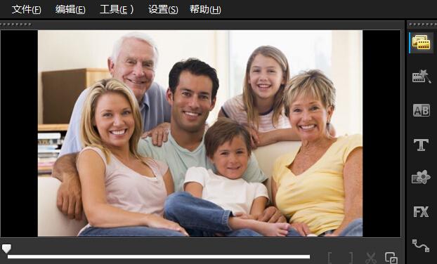 "<span class=""keywords"">会声会影x5</span> 制作全家福 留住全家的幸福"