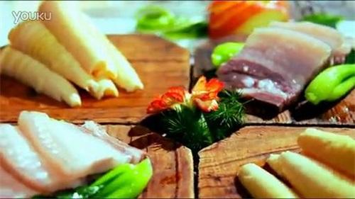 中华美食视频素材