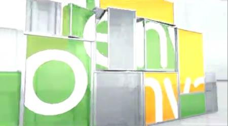 玻璃魔方logo展示