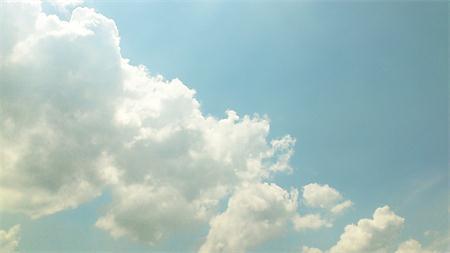 天空视频模板
