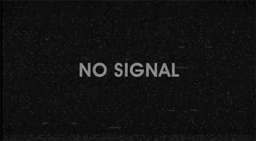 电视信号故障视频素材