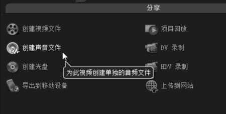 输出音频文件