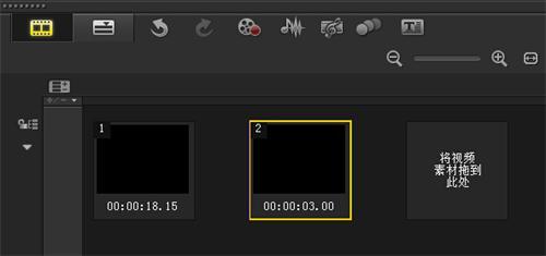 切换故事板视频添加色块
