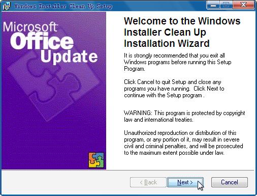 Windows Install Clean Up 安装步骤