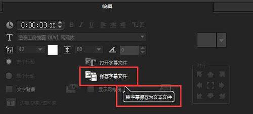 插入txt字幕文件