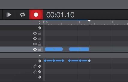 文本动画时间线