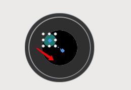 绿色小椭圆