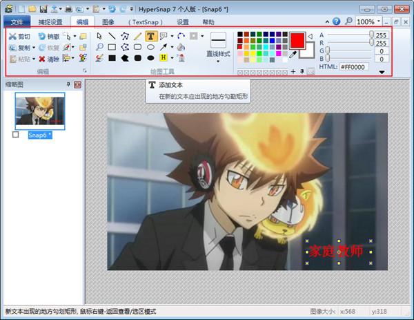 HyperSnap屏幕截图专家二