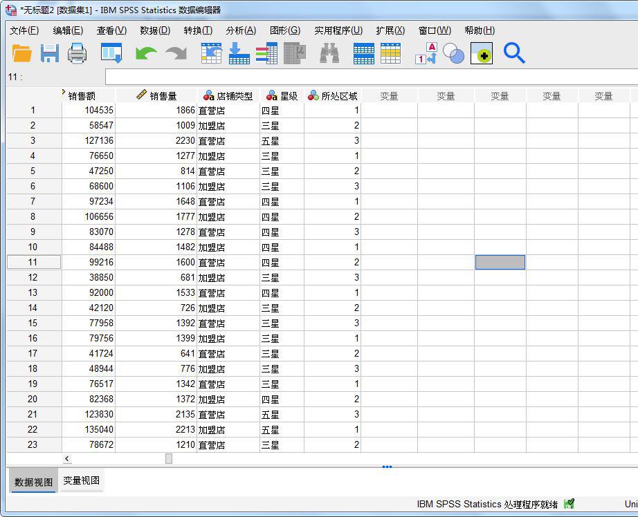 图1:店铺数据