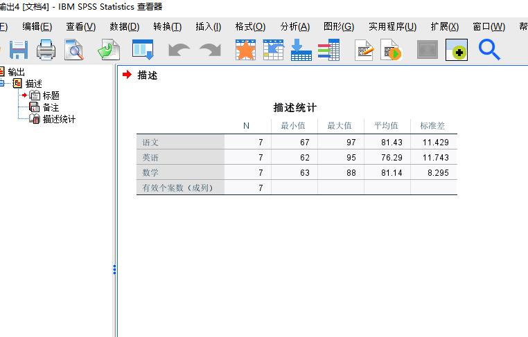 图11:取消拆分后的描述统计
