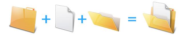 创建文件夹图标
