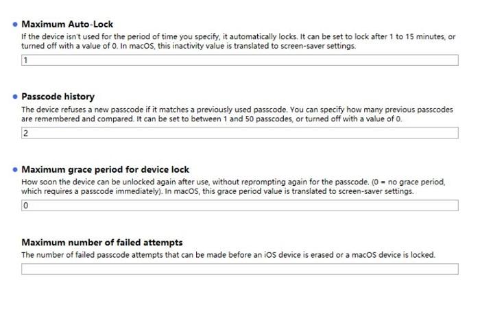 图9:密码策略设置演示2