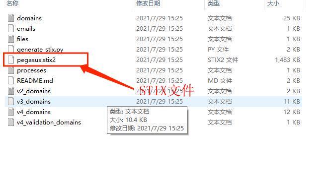 图6:STIX文件
