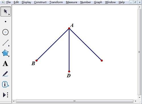 利用反射構造三角形的腰