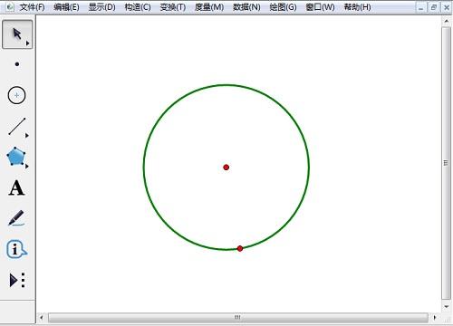 利用圆工具画圆