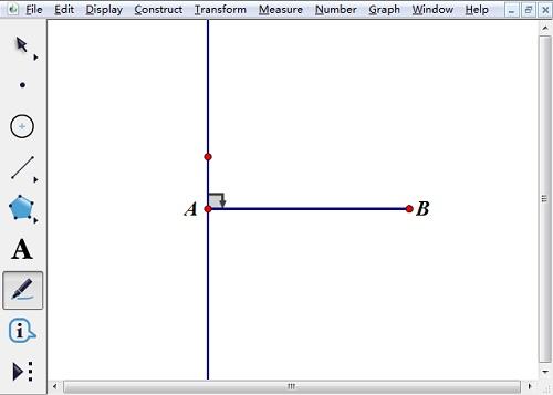 标记带方向直角符号