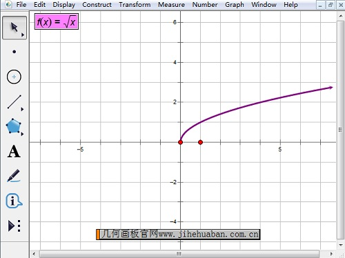 画出根号函数图像