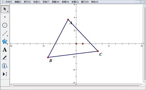构造坐标系和三角形