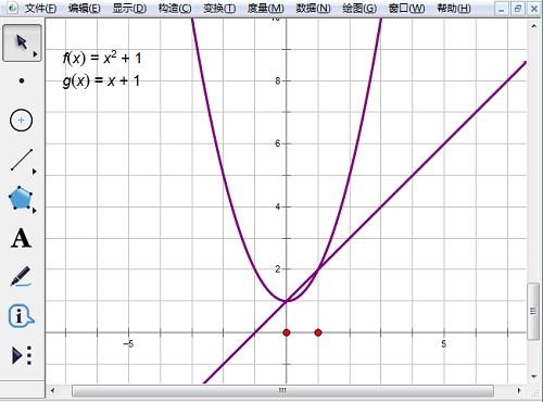 几何画板绘制函数