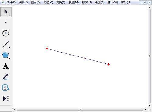 绘制黄金分割线段