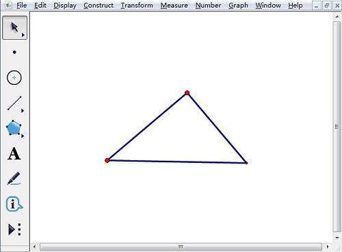 绘制直角三角形
