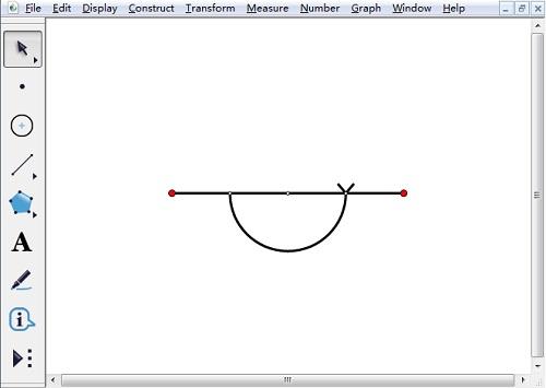 几何画板作平角