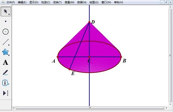 构造线段DE上点E的轨迹