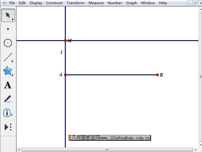 构造线段AB平行线