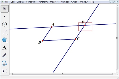 兩條直線的交點