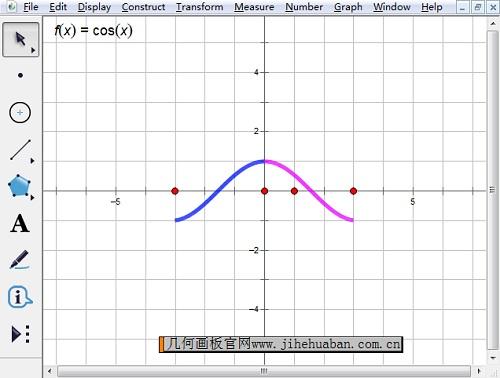 给函数单调区间分色