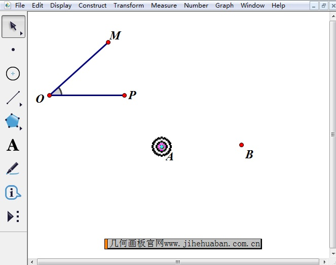 标记角和旋转中心