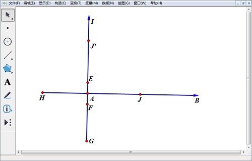 绘制纵轴的箭头并隐藏中心圆