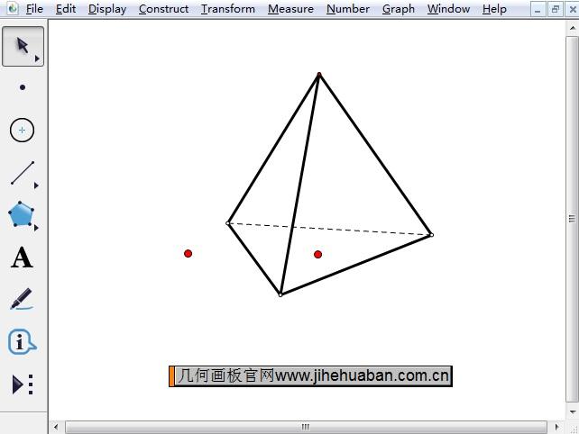 繪制三棱錐
