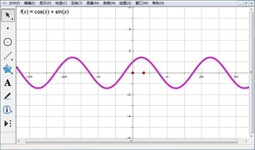 幾何畫板繪制函數