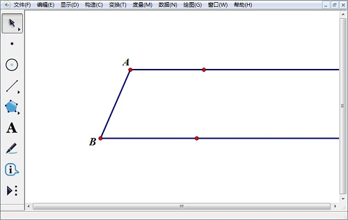構造梯形的底和腰