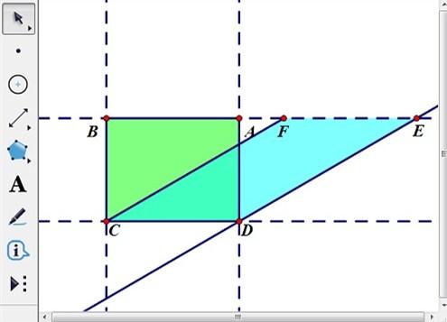 构造四边形CDEF