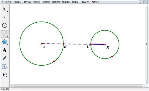 構造圓和線段