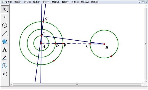 構造線段BF的垂線