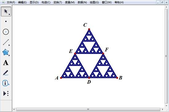 歇尔宾斯基三角形