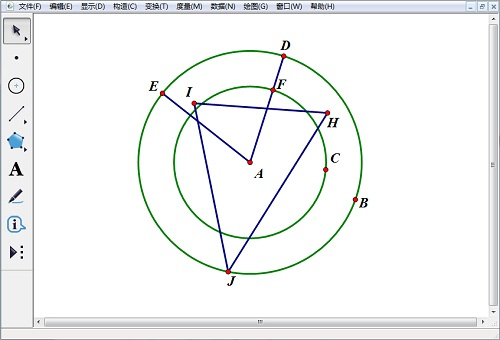 構造交點和三角形
