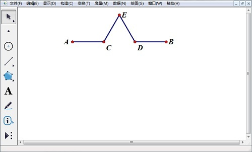 变换点并构造线段