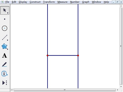 構造線段的垂線