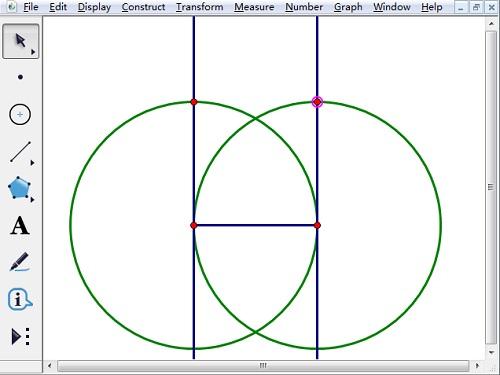 构造线段为半径的圆