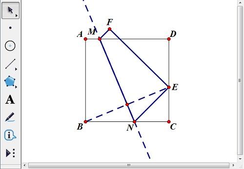 构造线段BE中点和垂线