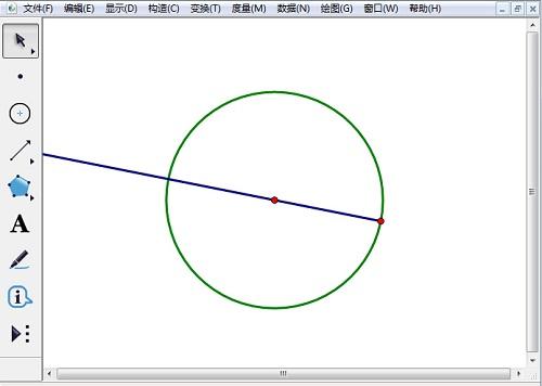 绘制圆和射线