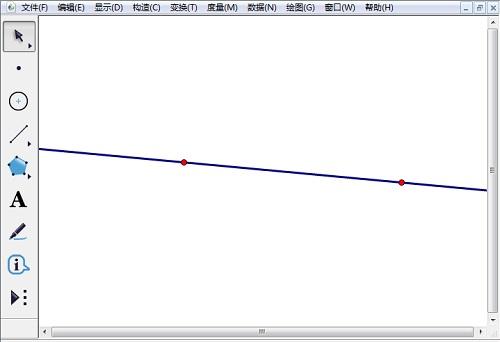 任取两点构造直线
