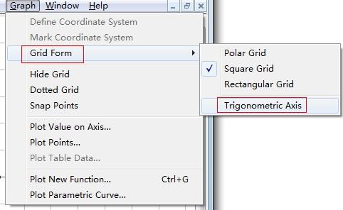 三角坐標網格