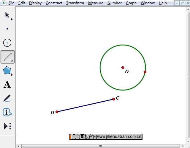绘制圆和线段