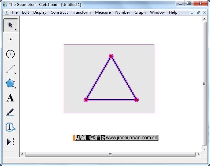 选中正三角形