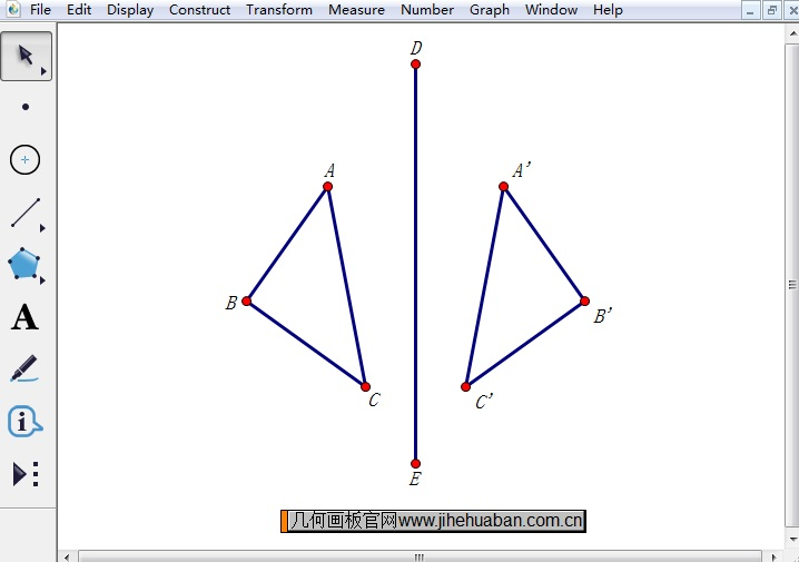 构造反射三角形